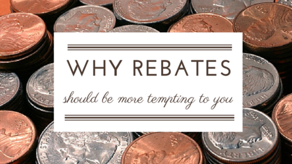 What's the Temptation of a Rebate?