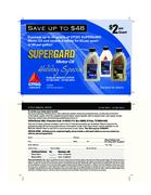 Citgo Supergard 1 Quart Motor Oil $2 Rebate
