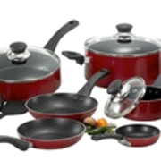 T-Fal Inspirations 20-pc. Nonstick Aluminum Cookware Set - $20 Mail-in Rebate