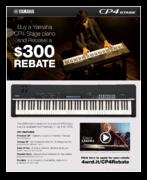 Yamaha $300 Rebate