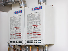 Natural Gas Tankless Water Heaters