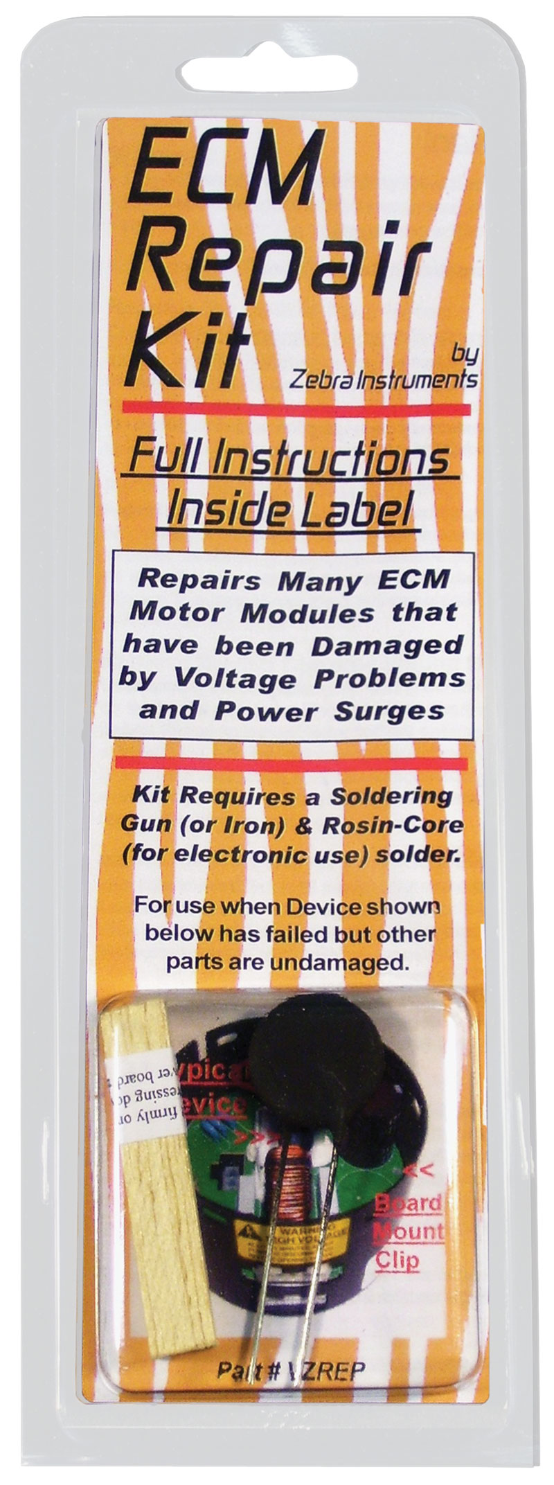 Rheem Replacement Parts Division Genteq Ecm Motor Wiring Diagram Kit Includes Repair Components For 23 Modules That Have Been Damaged By Voltage Problems And Power Surges Requires Use Of Soldering Iron