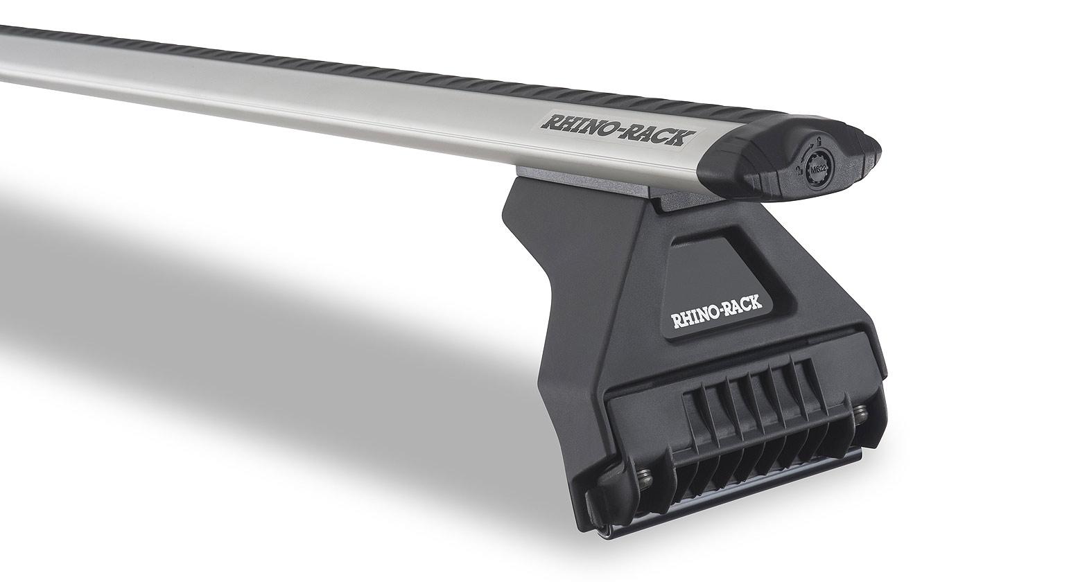 Rhino Rack Vortex RL110 Silver 2 Bar Roof Rack