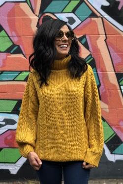 Autumns Kiss Sweater (Mustard)