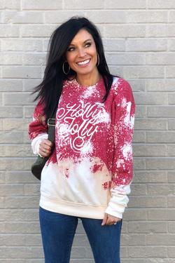 Holly Jolly/Merry Christmas Sweatshirt