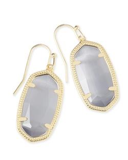 Kendra Scott ~ Dani Drop Earrings (Gold/Slate)
