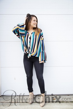 Striped Divine Top