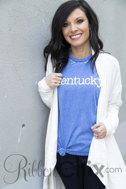 Kentucky Acid Wash Tee