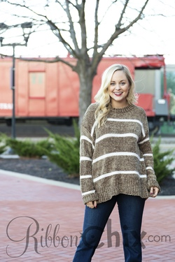 Simply Me Sweater (Brown)