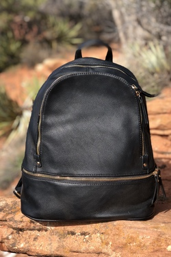 Come Away With Me Backpack (Black)