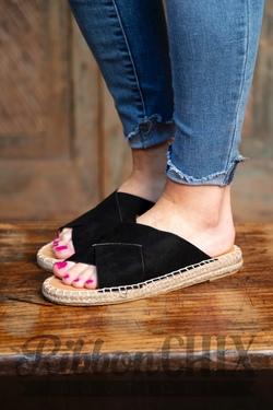 Elmore Black Sandal