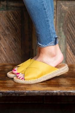 Elmore Yellow Sandal
