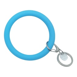 Bracelet Key Ring ~ Bright Blue