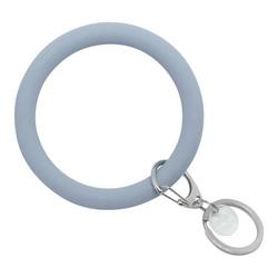 Bracelet Key Ring ~ Slate Blue