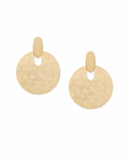 Kendra Scott ~ Didi Statement Earrings In Gold