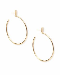 Kendra Scott ~ Pepper Hoop Earrings In Gold