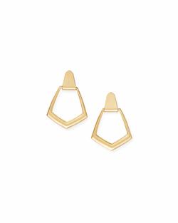 Kendra Scott ~ Paxton Hoop Earrings In Gold