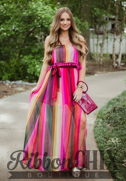Bright and Bold Maxi Dress