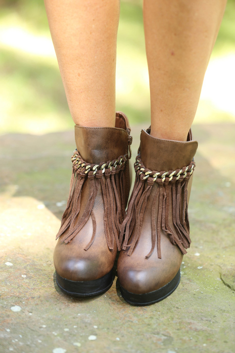 Childrens Brown Shoes