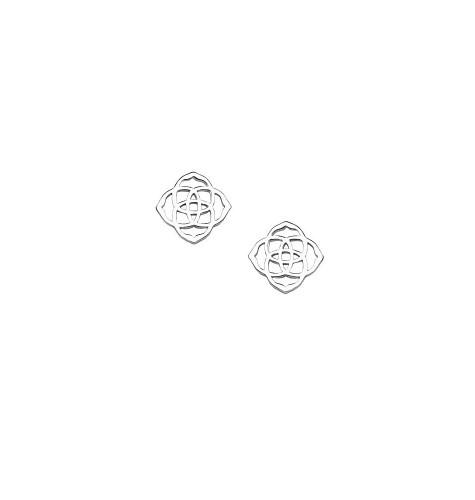 f91b2e48a Kendra Scott ~ Dira Stud Earrings In Silver | Jewelry | Ribbon Chix