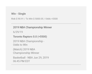 NBA Finals Betting Odds: Who is 2020's Toronto Raptors?