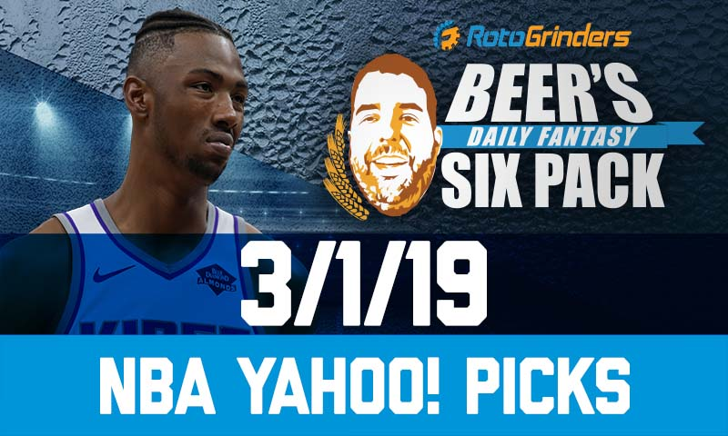 af20bdef40e Yahoo NBA Six-Pack  Friday