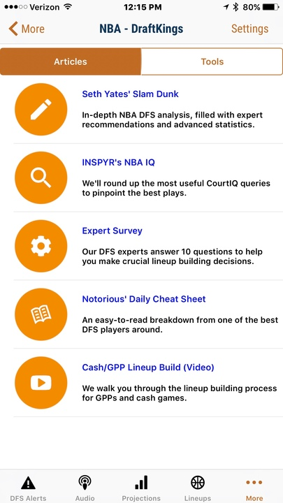 RotoGrinders Mobile APP