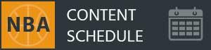 RotoGrinders NBA Content Schedule