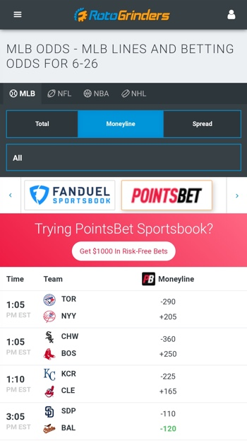 tab online betting odds
