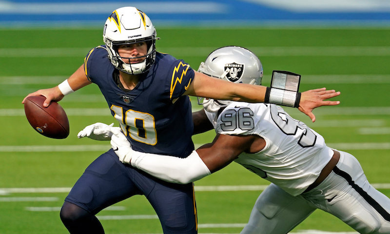 chargers raiders betting previews