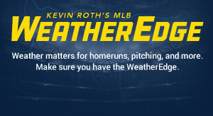 MLB Weather - Today's Daily Fantasy MLB Weather