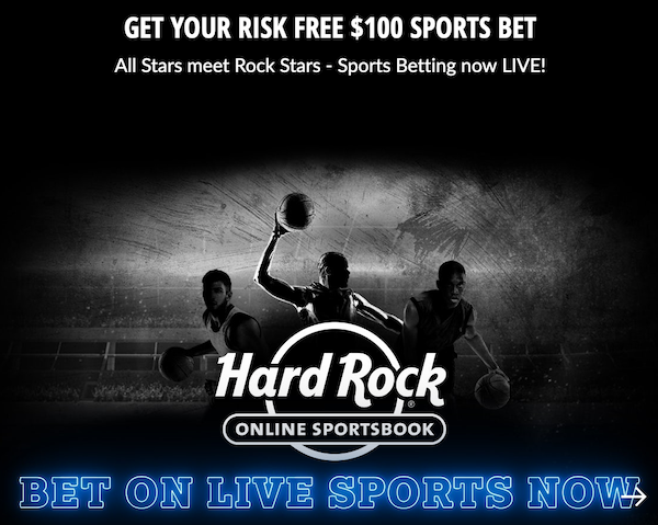 Hard Rock Promo Code – Get a Risk Free $100 Bet NOW!
