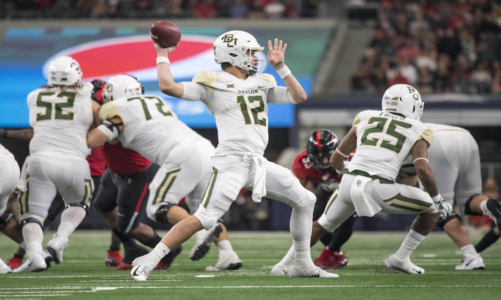 2019 College Football Win Totals Texas Tech Baylor