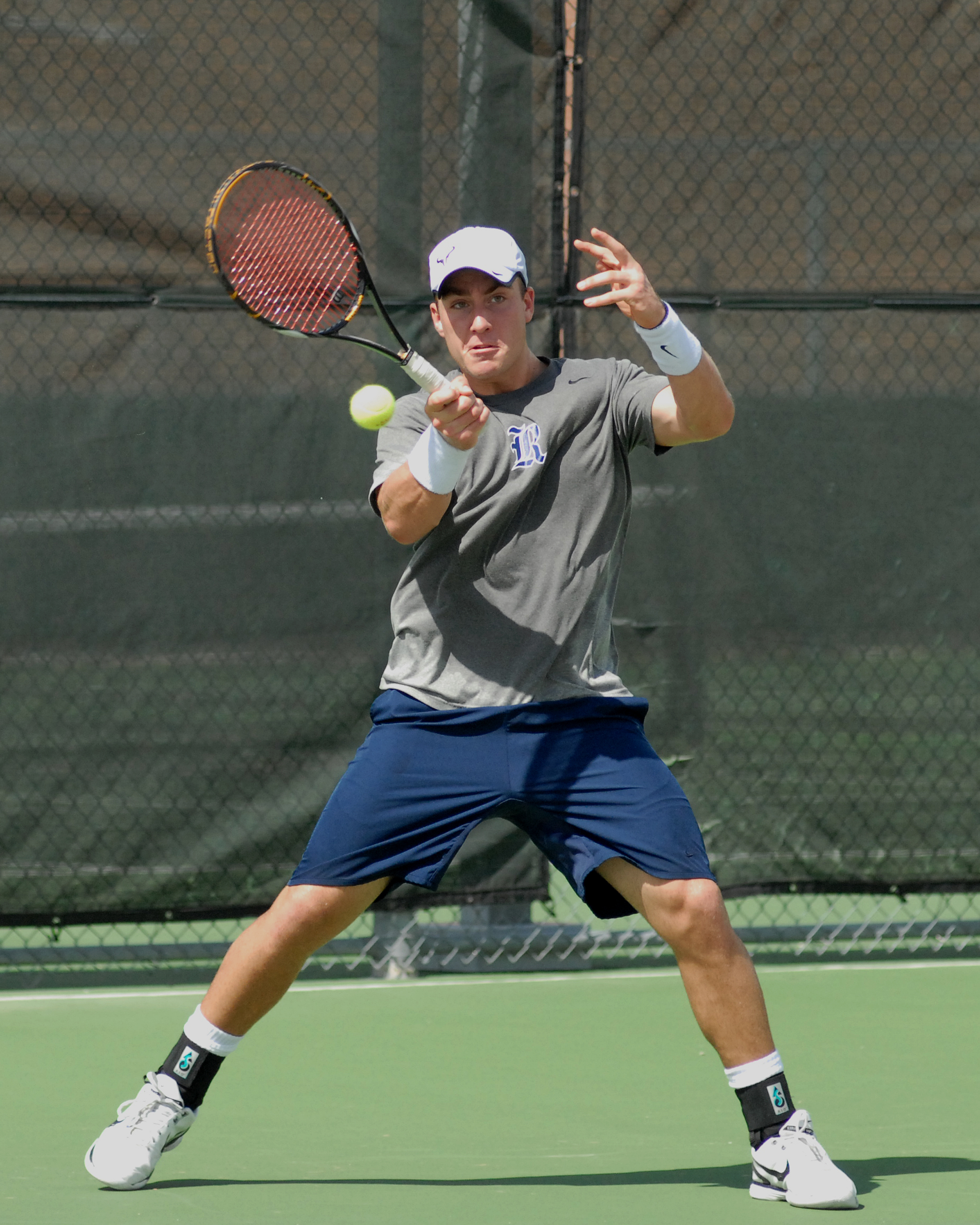 Philipp Seifert has advanced to the finals of the A Draw consolation at the UT Men's Invitational.