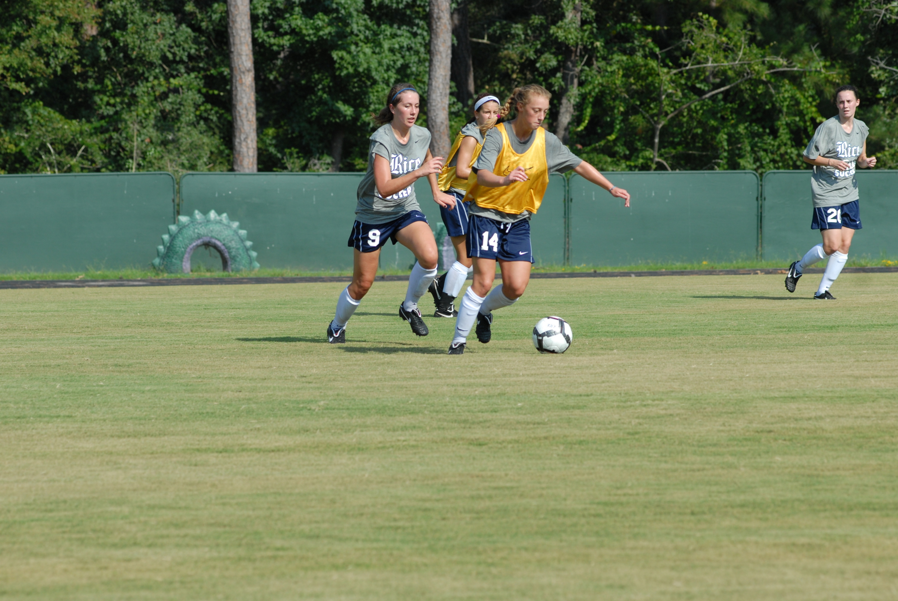 <b>The Owls' 2010 soccer season begins with an exhibition  Saturday.</b>