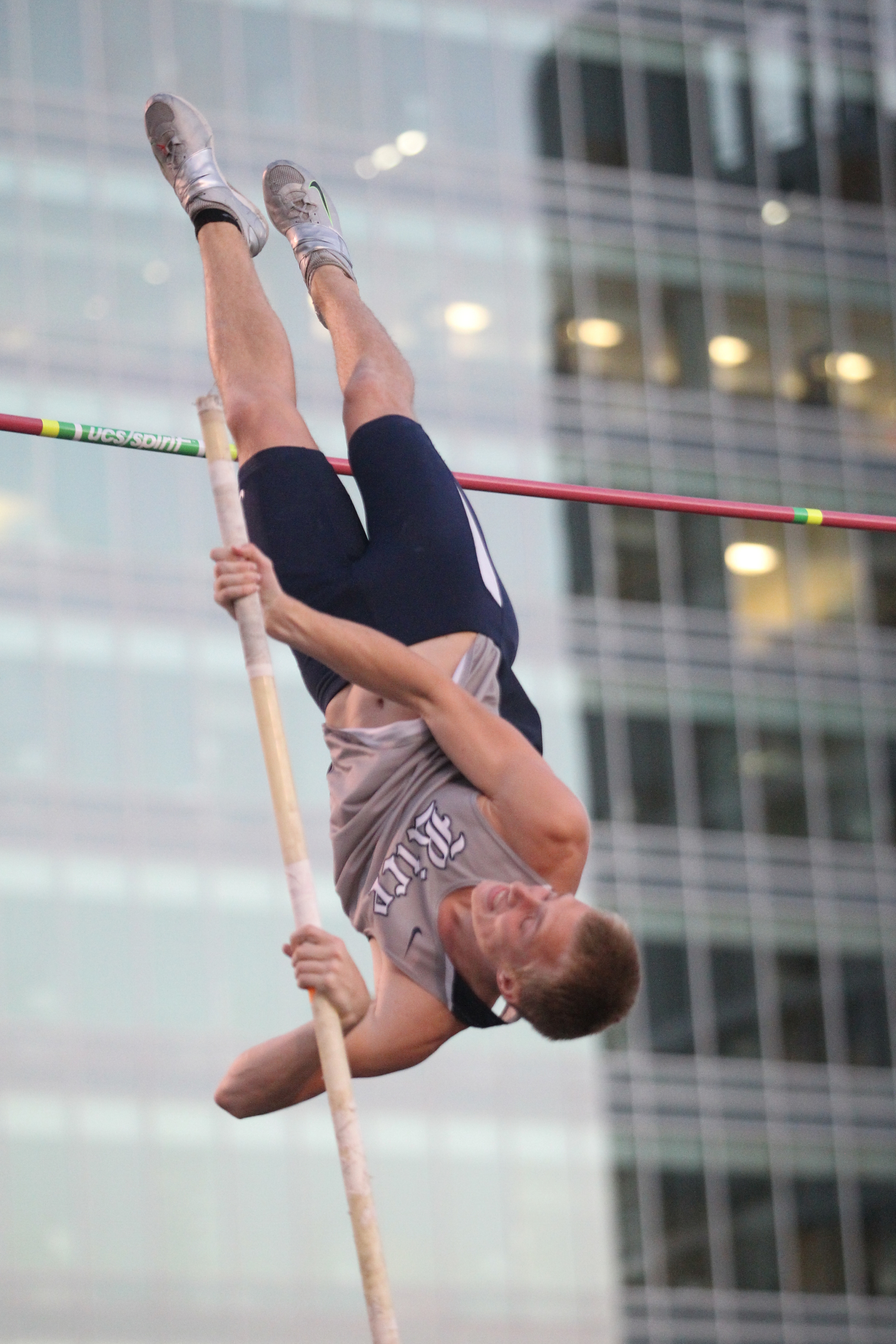Chris Pillow cleared 17 feet for the fourth consecutive meet