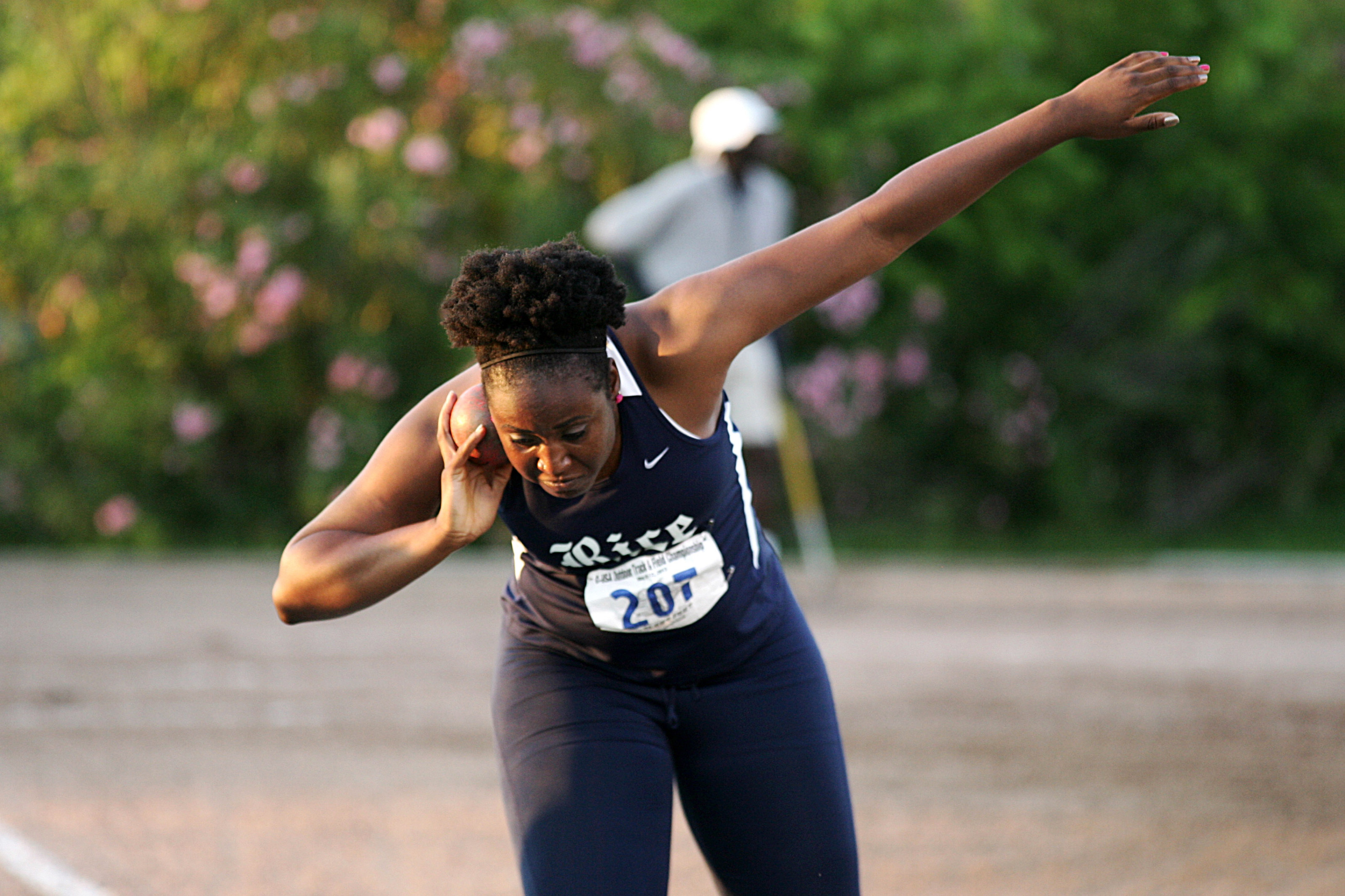 Claire Uke is one of five Rice athletes to qualify for the NCAA Championships