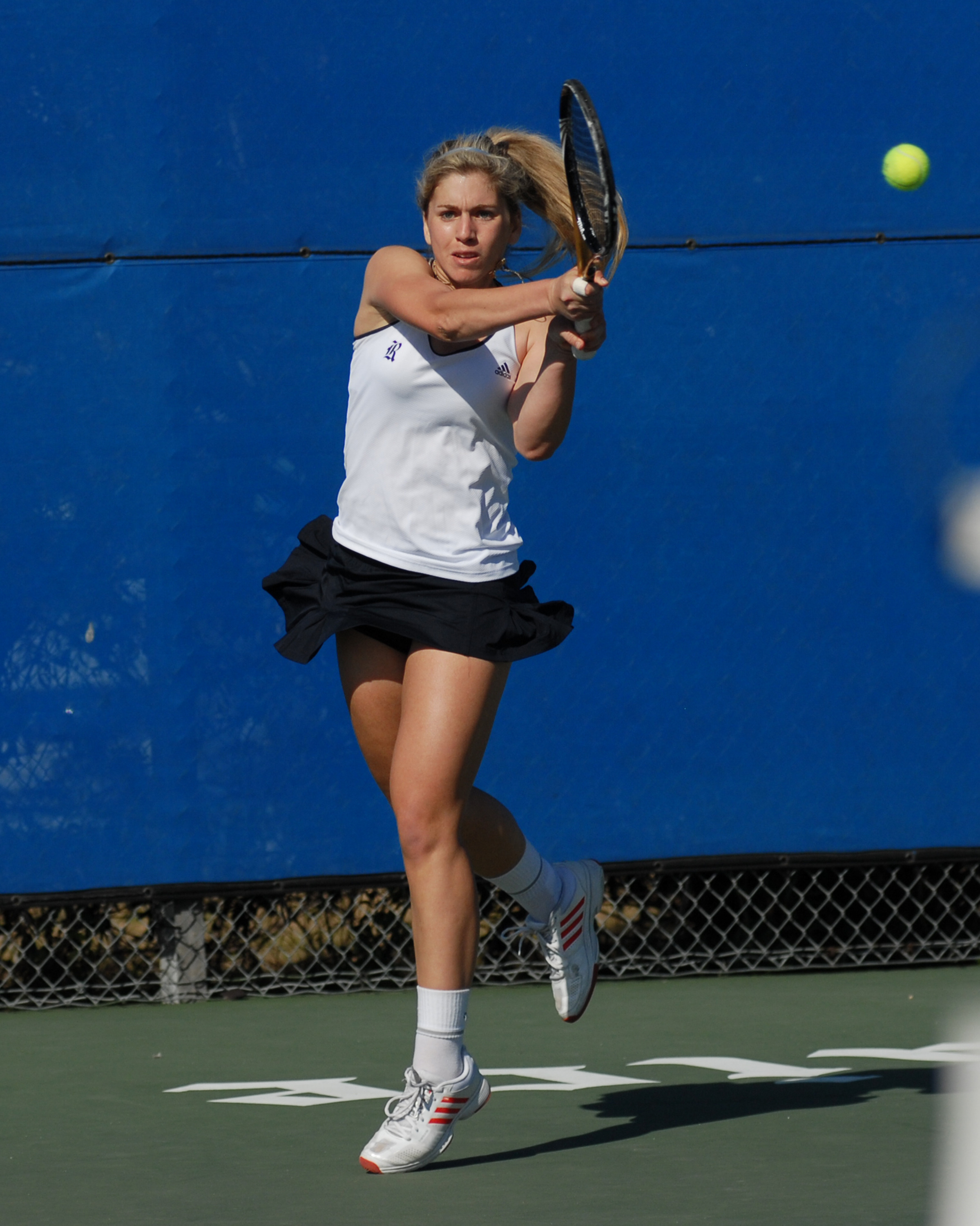 Liat Zimmermann clinched the match with a tiebreak win