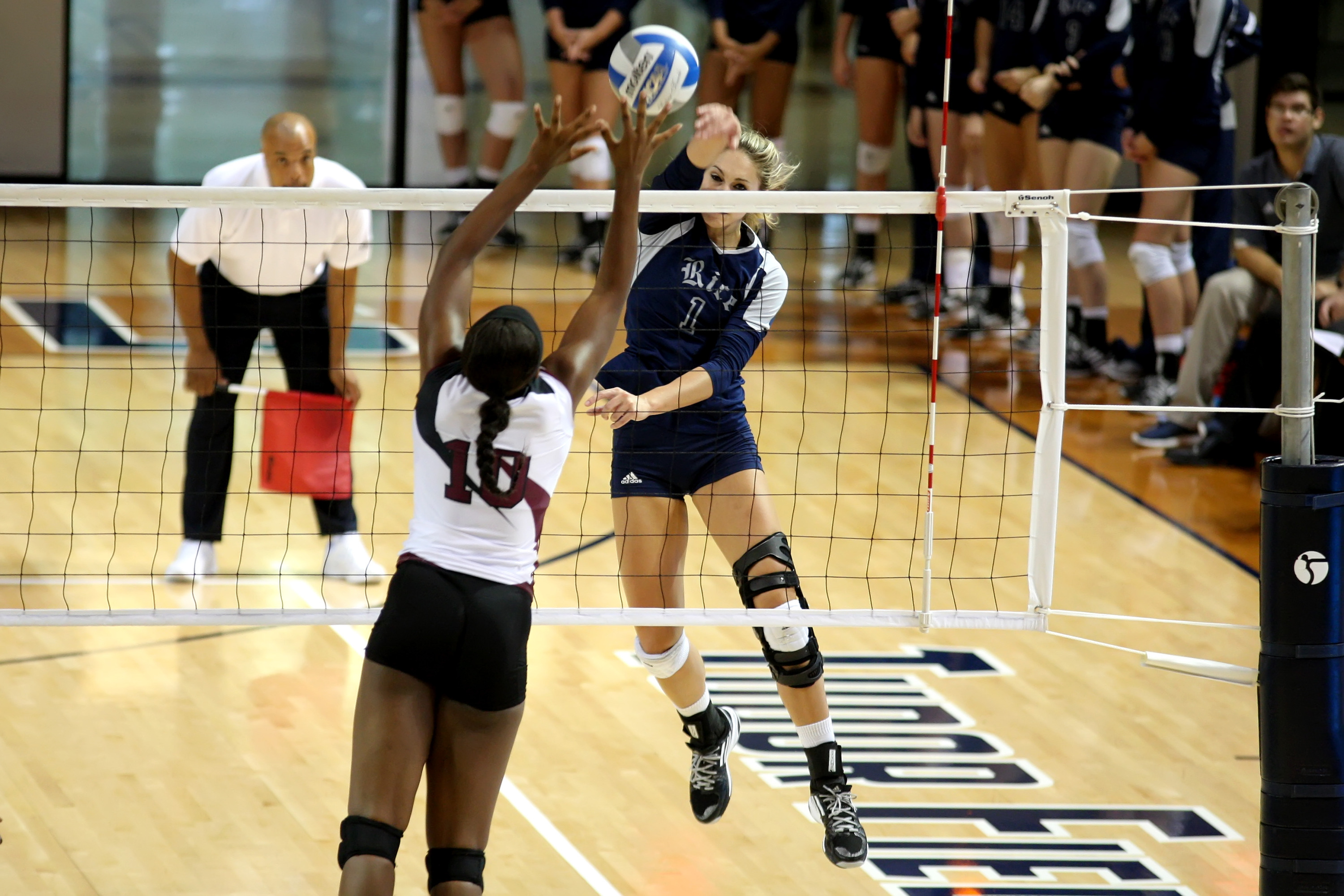 Noelle Whitlock and the Owls open up C-USA play this weekend.