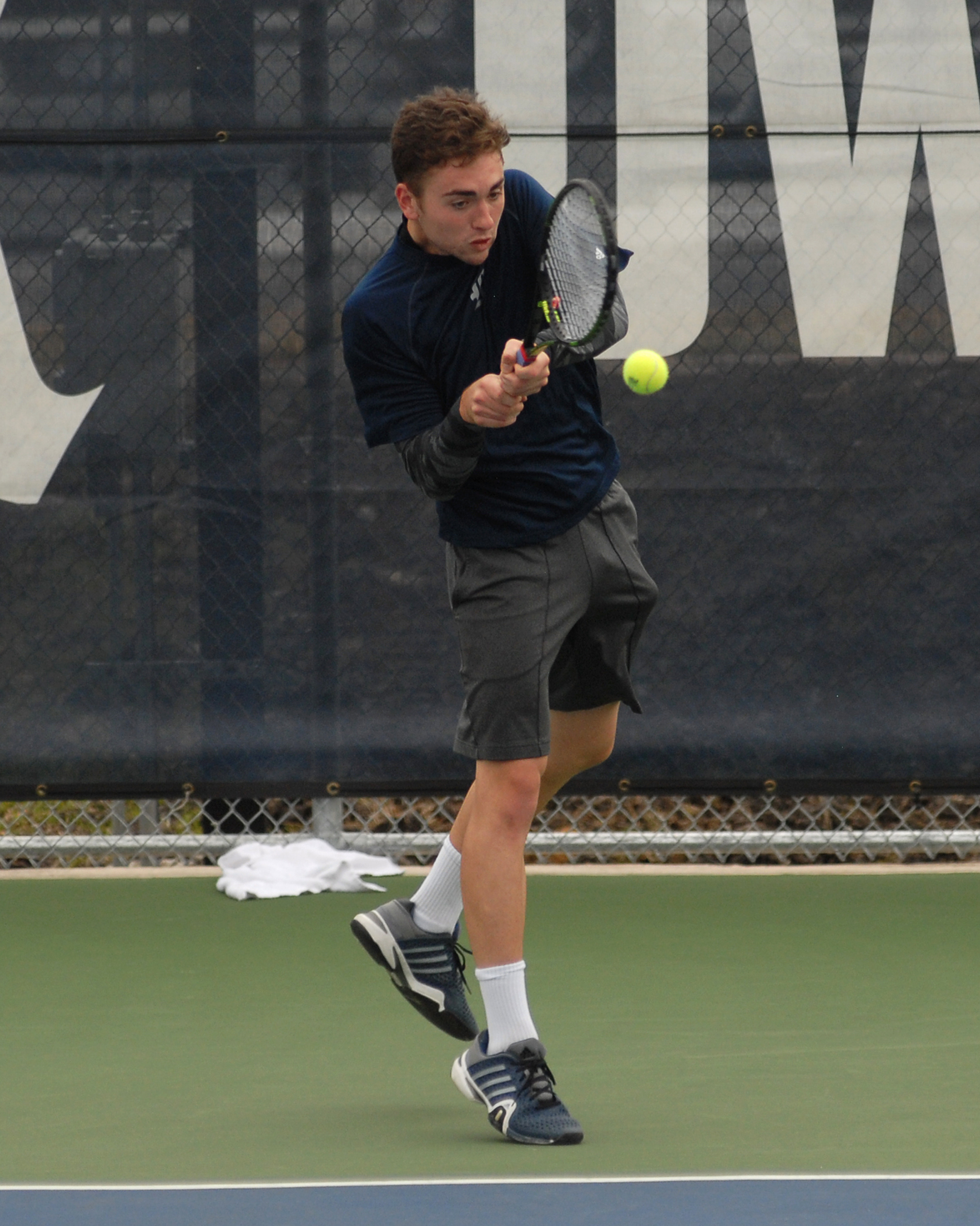 Max Andrews won in three sets on Sunday.