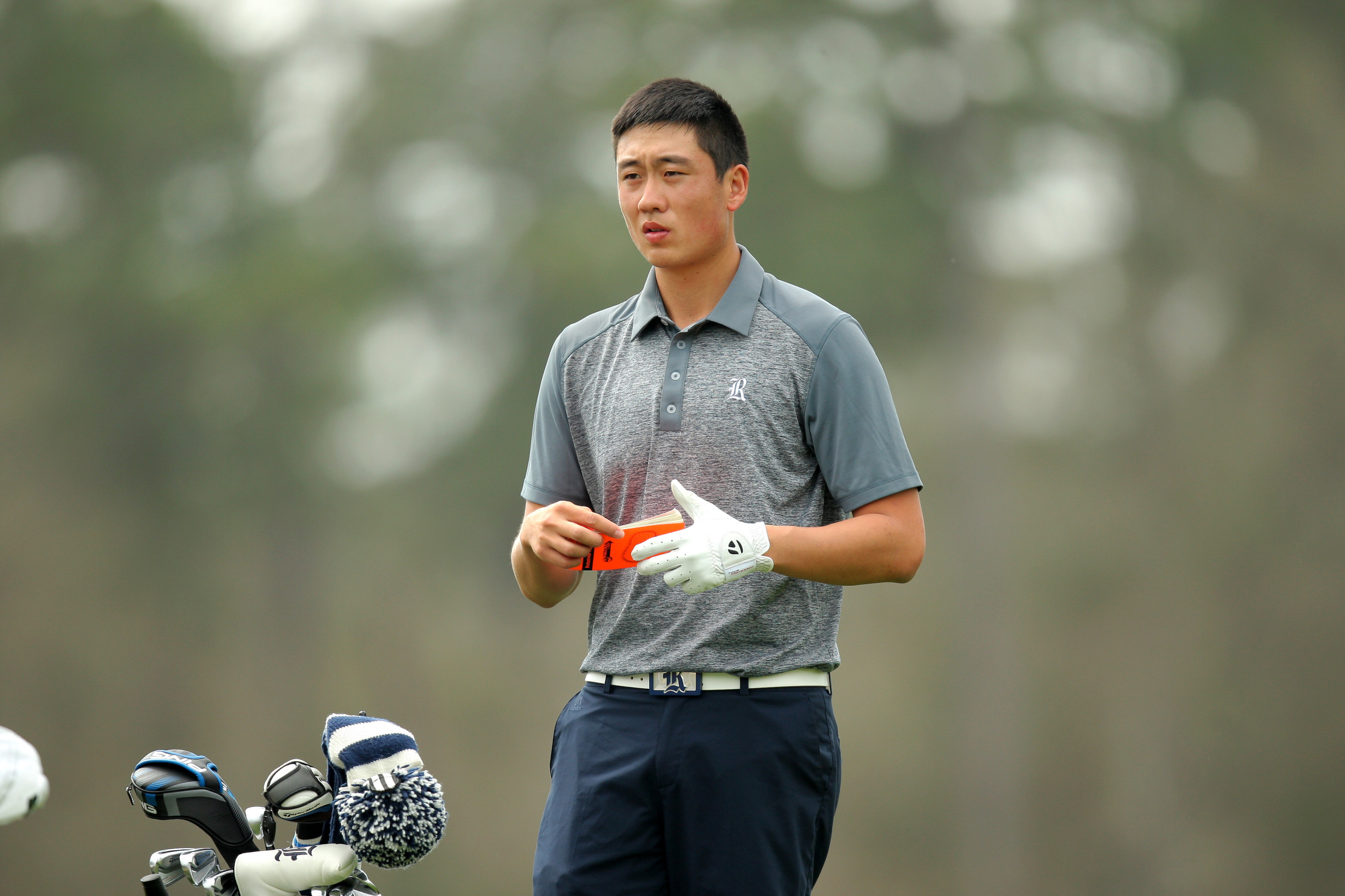 <b>James Lee </b>shot a 74 on Tuesday for his low round of the tournament.