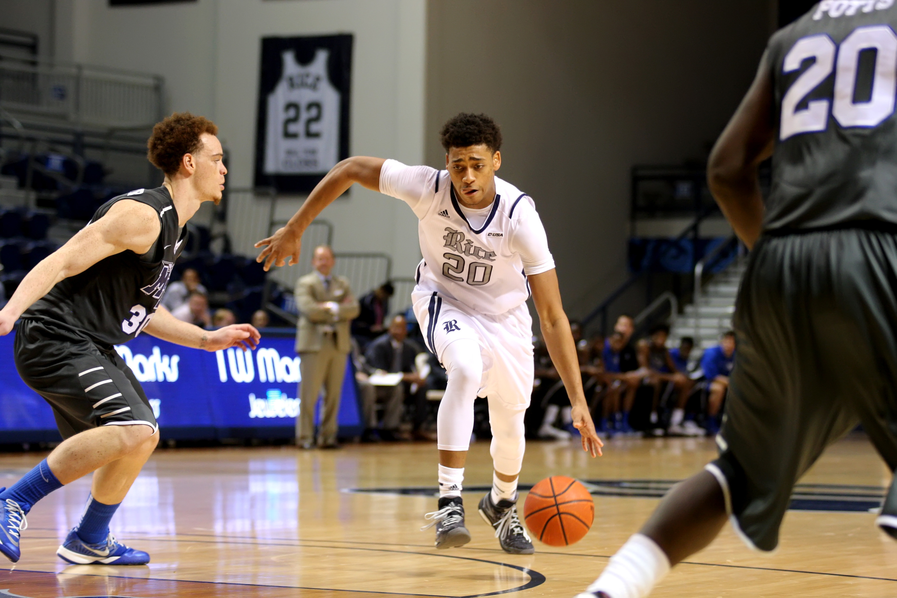 <b>Jeremy Jones</b> tallied a season high eight points and hauled in six rebounds at UTEP.