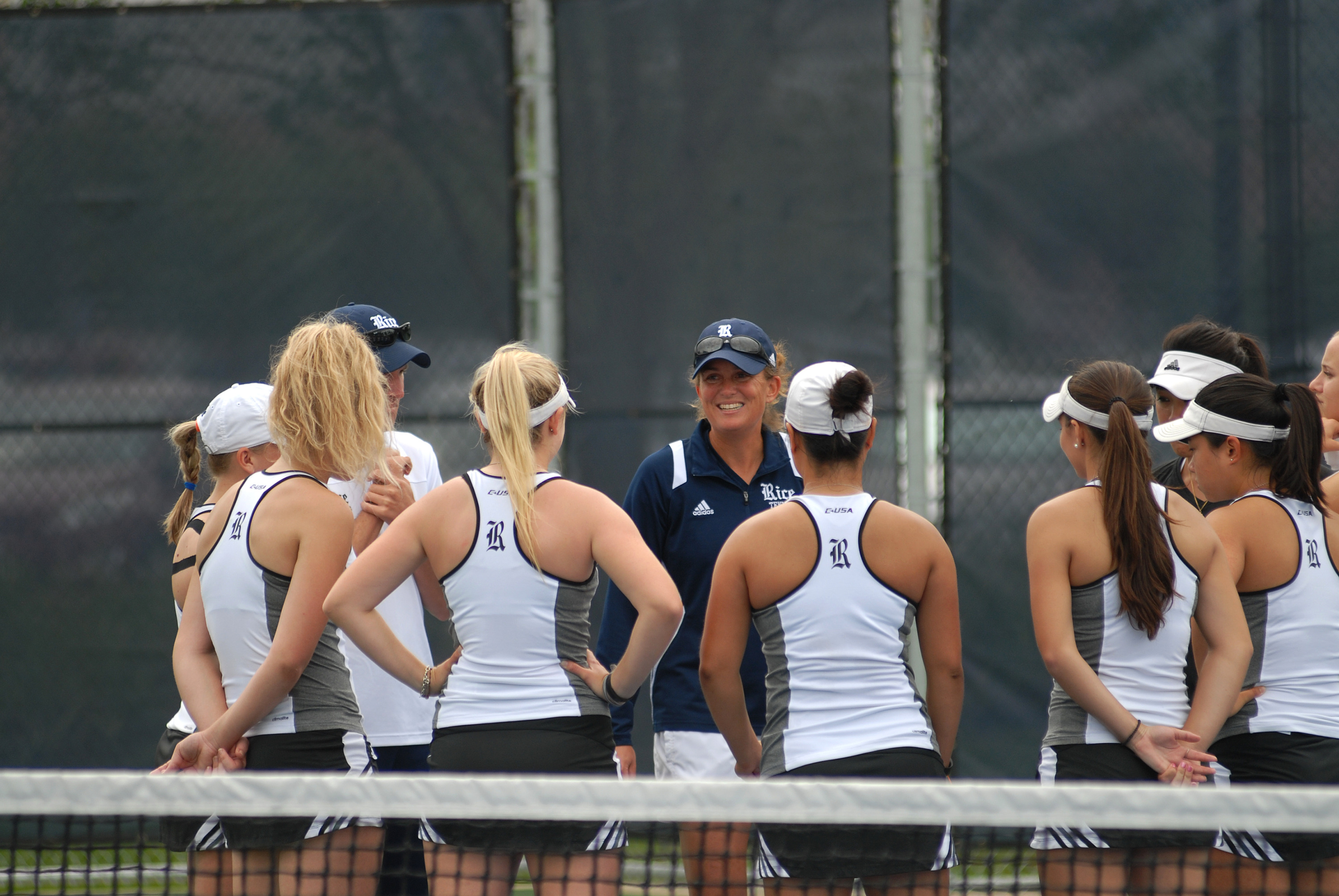 Elizabeth Schmidt and her 30th ranked Owls are looking for a third consecutive C-USA crown.