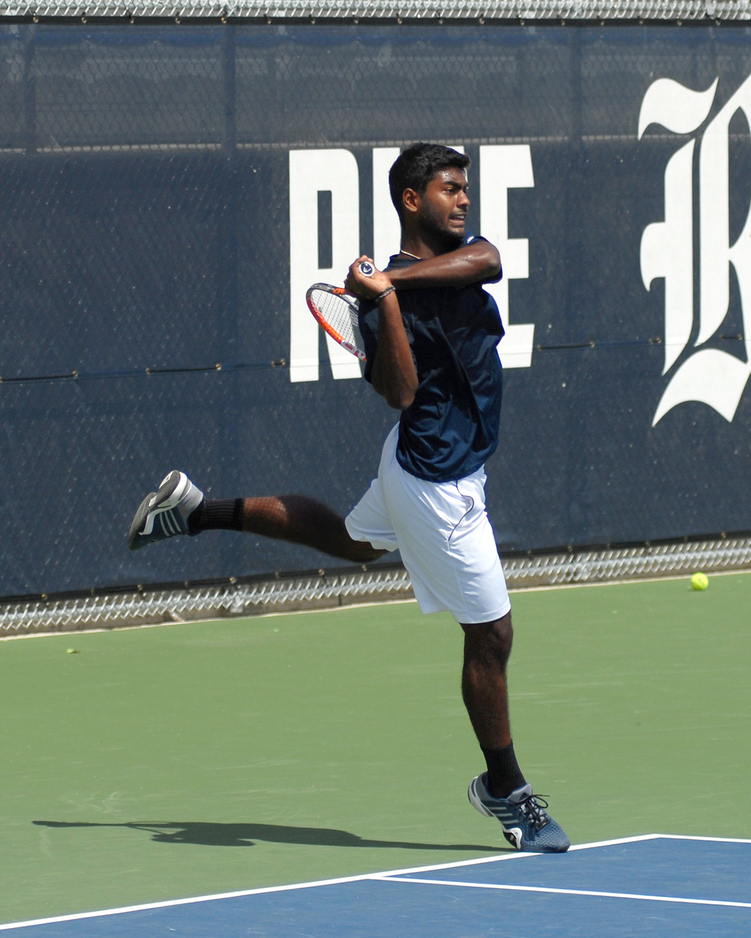 Senior <b>Srikar Alla</b> was selected first team all-conference by a vote of the league's coaches.