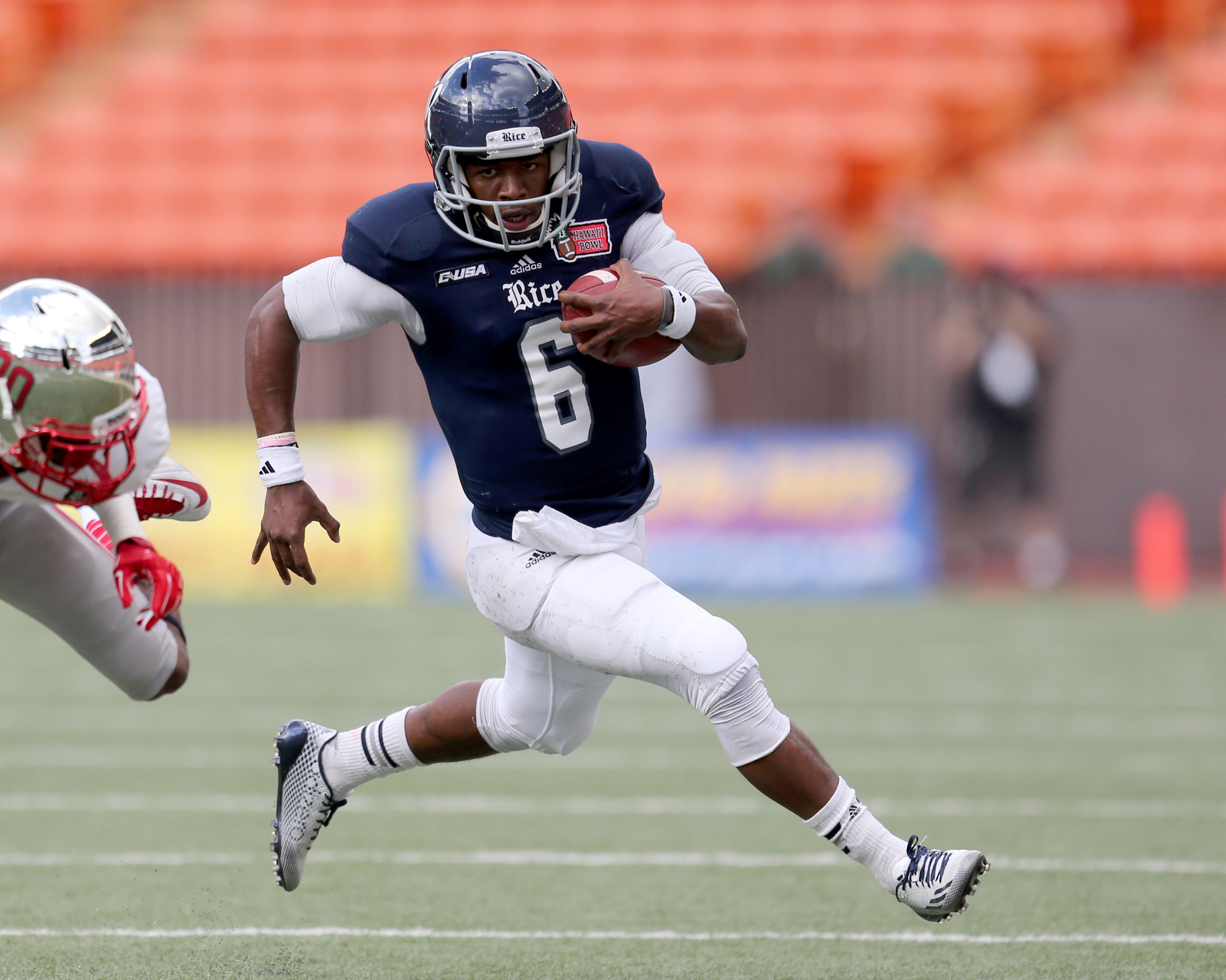 Driphus Jackson will lead the Owls in their pursuit of a fourth consecutive bowl berth.
