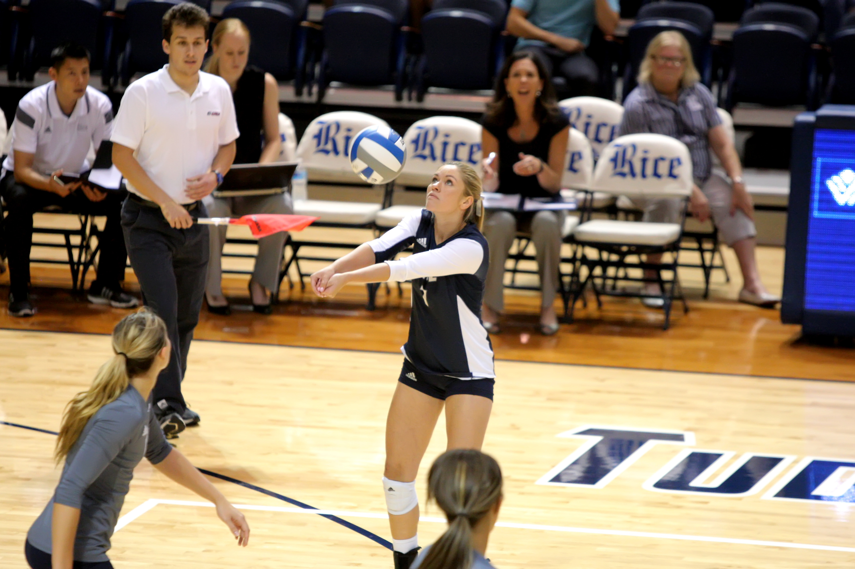 Volleyball Set To Play In Yale Invitational Rice University Athletics