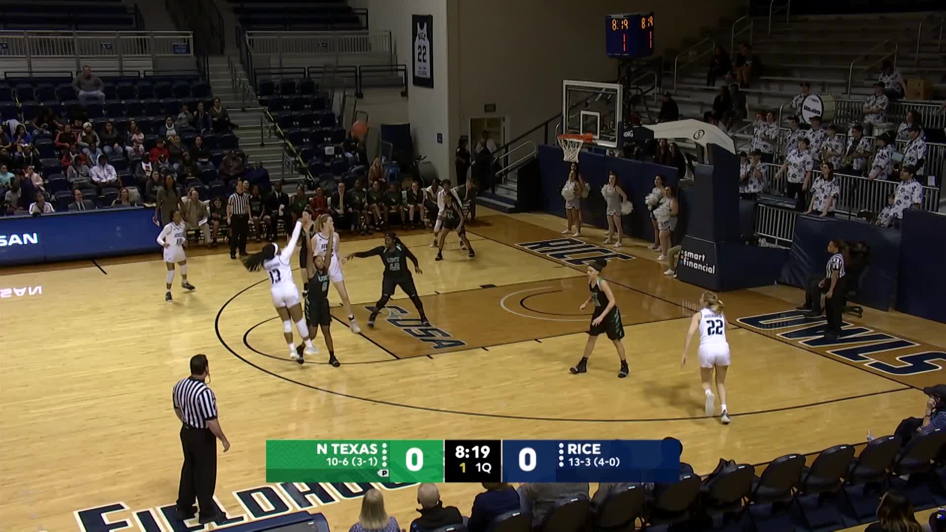 WBB: Top Plays vs. North Texas