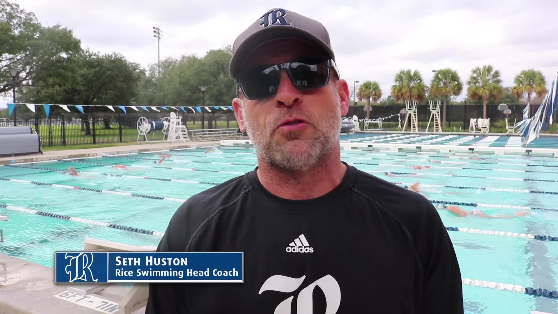 Coach Huston Previews Jan 11-12 Meets