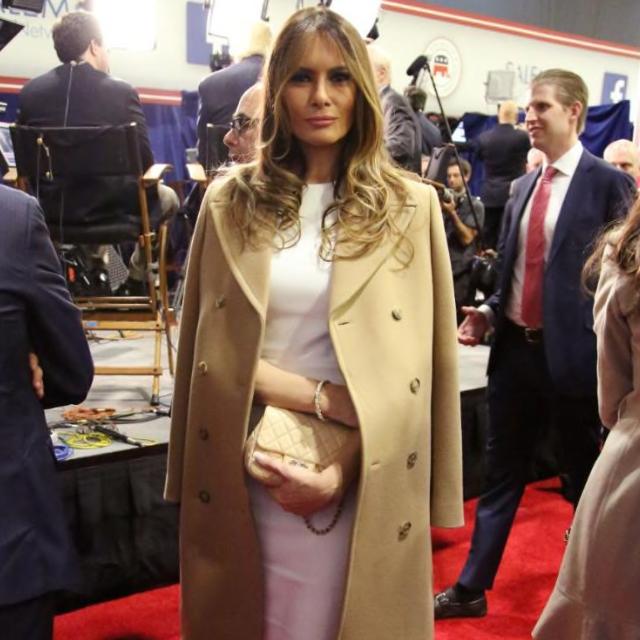 Trump trench coat