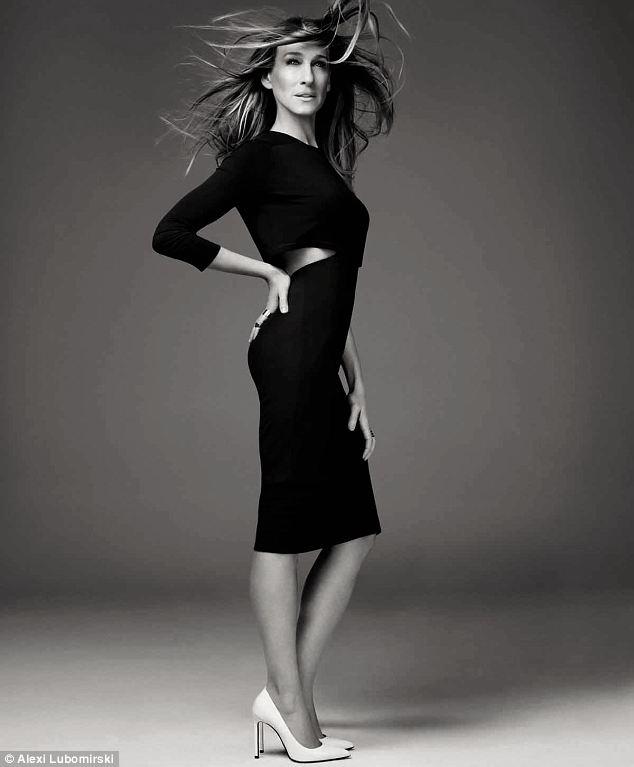 SJP black dress